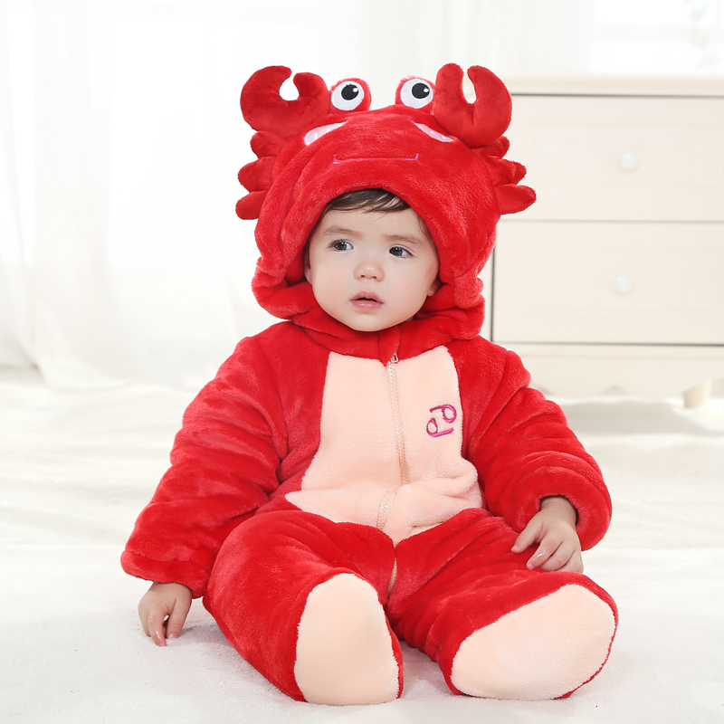 free shipping baby born winter thicken jumpsuits 6-12 months baby clothes winter clothing for girls 1-2 years baby boy clothes