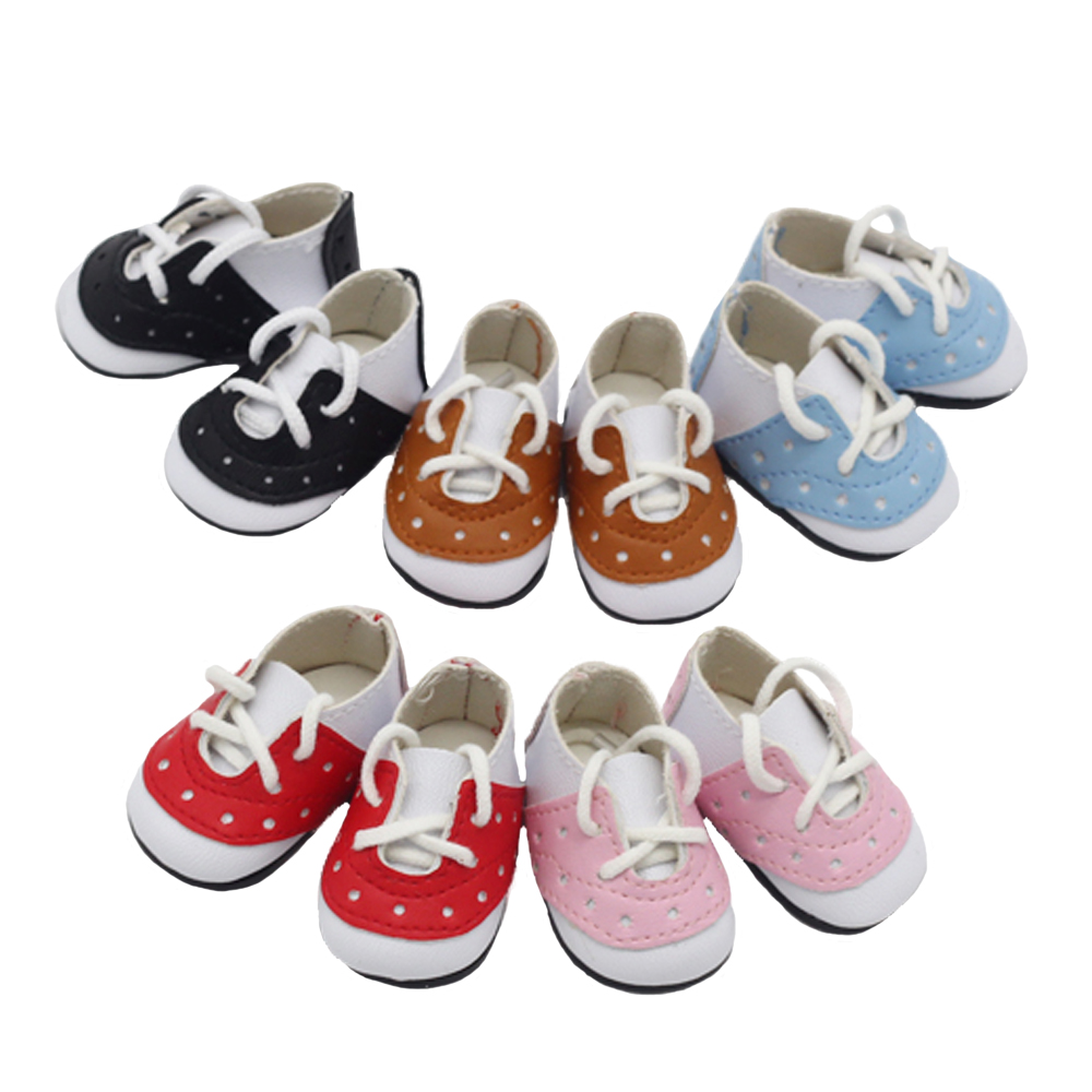 Doll's Clothes And Shoes Fit The 14.5-inch Dolls For EXO Dolls Children's Toys Children's Holiday Gift 5*2.8cm