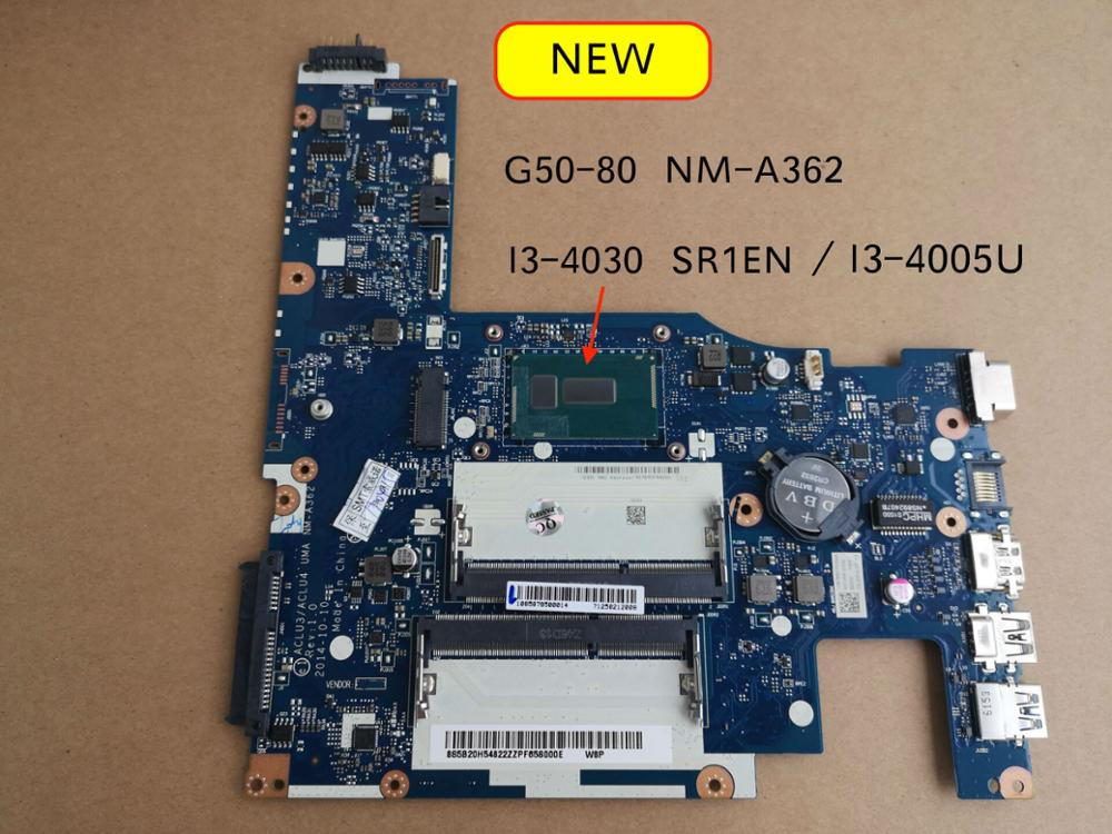 100% Tested New NM-A362 Mainboard For Lenovo G50-80 Laptop Motherboard I3-4030U I3-4005U