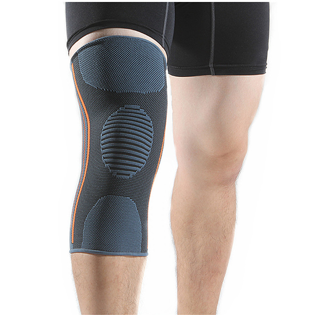 22392ed46f 2 Pieces Knee Brace Support Compression Sleeves Basketball Volleyball Knee  Pads for Running Jogging Sports Joint Pain Relief