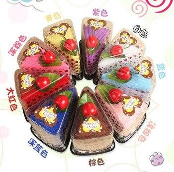 10 piezas de ducha Sandwich Cake helado flor para boda Navidad San Valentín cumpleaños Regalos 30*30 cm