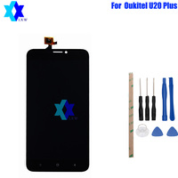 For Original Oukitel U20 Plus LCD Display Touch Screen Panel Digital Replacement Parts Assembly 5 5