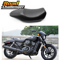 Leather Motorcycle Two Up Driver Front Rear Passenger Seat For Harley XG500 XG750 Street Seat News