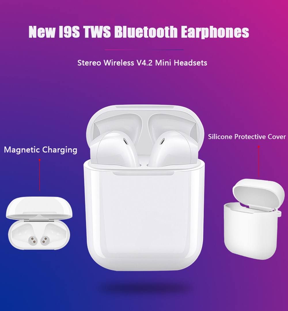 IFANS Mini i9s Twins Earbuds Mini Wireless Bluetooth Earphones i7s TWS Air Headsets Pods Stereo Headphones For IPhone Android PC (1)