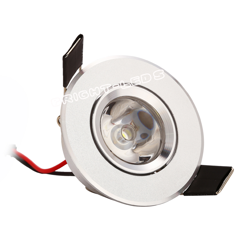 1PC 1W 3W Mini Led kabinlampor Mini led downlight AC85-265V led Spotlight lampa inkluderar ledare för Kitchen Garderob