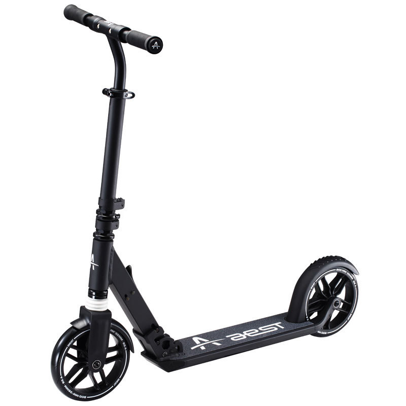 AEST Aluminum Alloy Foot Scooters Adult Children Scooter Kick scooters Adjustable Folding Kickboard 2 Wheels Mini Bicycle цена 2017