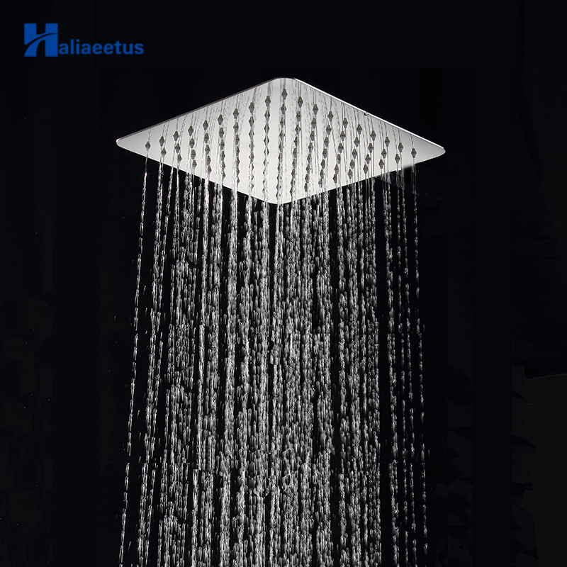 25cm 10 Rainfall Shower Head.wall Mounted Stainless Steel Ultra