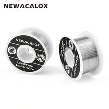 NEWACALOX 2 pcs set 1mm New Welding Iron Wire Reel 100g 3