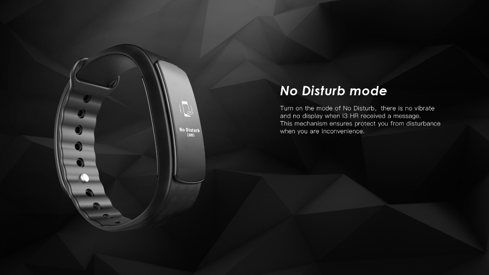 New IWOWN i3 HR Smart Bracelet IP67 Waterproof Heart Rate Mnitor Bluetooth SmartBand Wristband for IOS