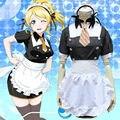Eli Ayase Cosplay Anime Love Live Mujeres Maid Disfraz de Halloween Ropa