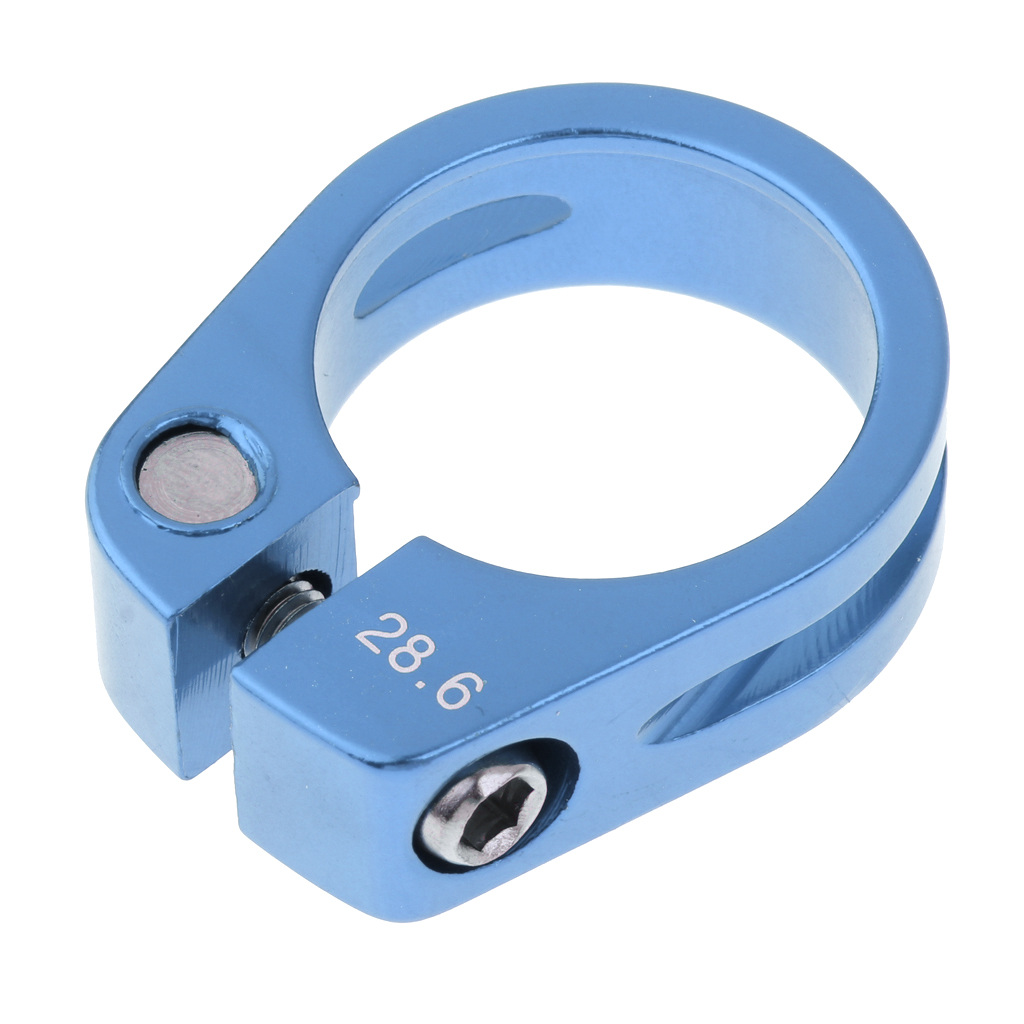 Alloy Seat Post Clamp 28.6//30mm Seatpost Saddle Tube Clip for Kids Bikes