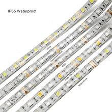 Bande lumineuse LED SMD 5050, 11 couleurs, 5M 12V, RGB, RGBW, RGBWW, décoration étanche, 60 diodes/M, jaune, rose, bleu glacé