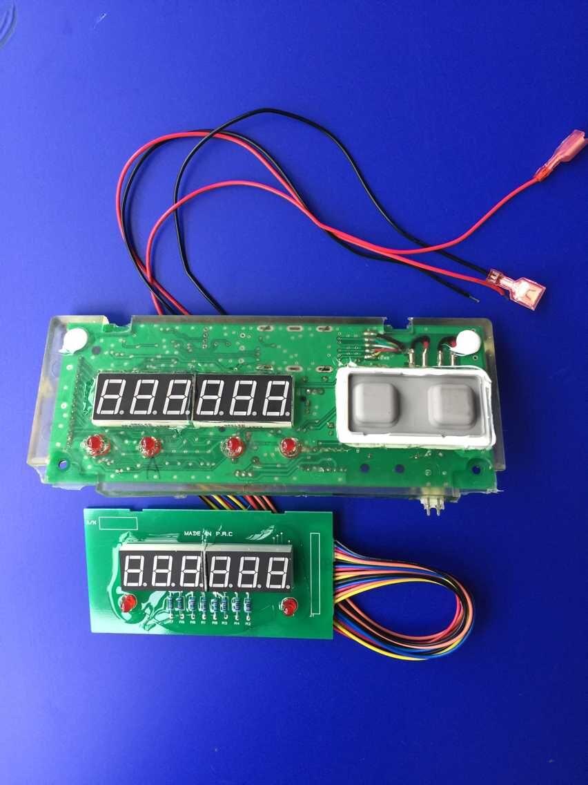 Cub Waterproof Scale Motherboard Rear Display Panel Electronic Main Board Accessories