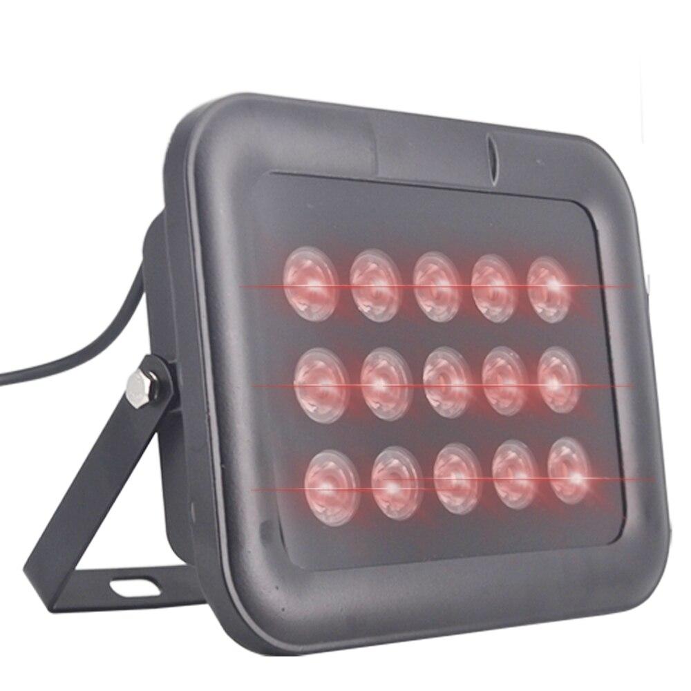 Rétro-éclairage pour caméra IR Leds tableau 80 M IP65 CCTV lumière LED ir illuminateur lampe infrarouge vision nocturne Surveillance lumières de remplissage