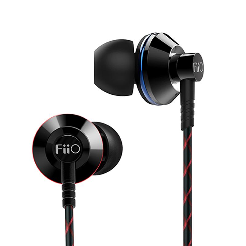 Prix pour Fiio ex1 2ème gen ex1ii ex1 ii nanotech titanium diaphragme in-ear monitors écouteurs