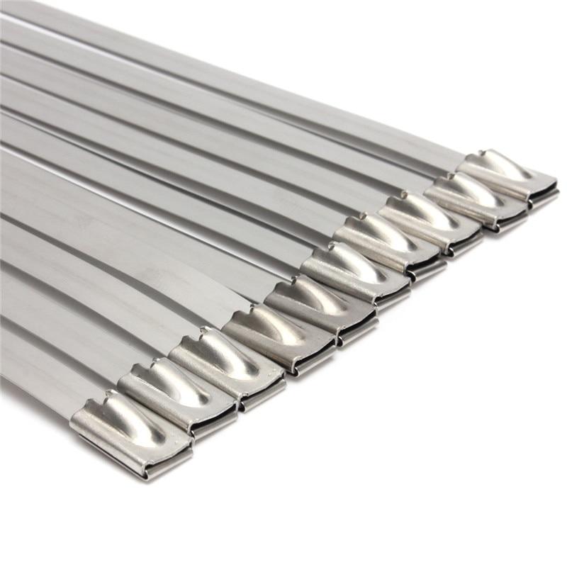 Strong Stainless Steel Marine Grade Metal Cable Ties Zip Tie Wraps ...