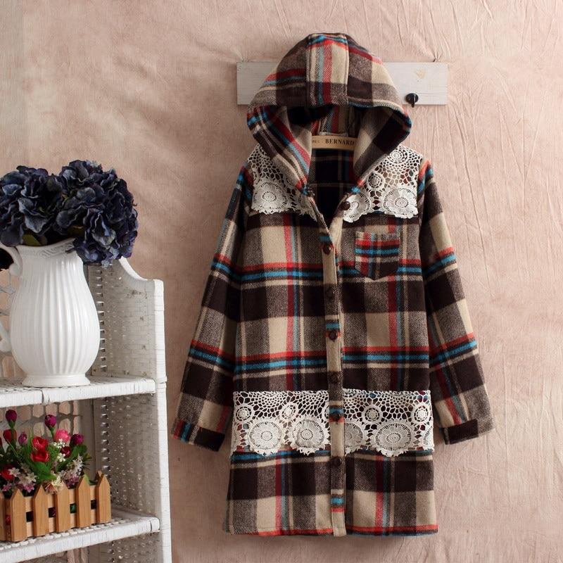 gray coat plaid manteaux femme chaquetones de mujer cheap winter coat autumn cape poncho women dames
