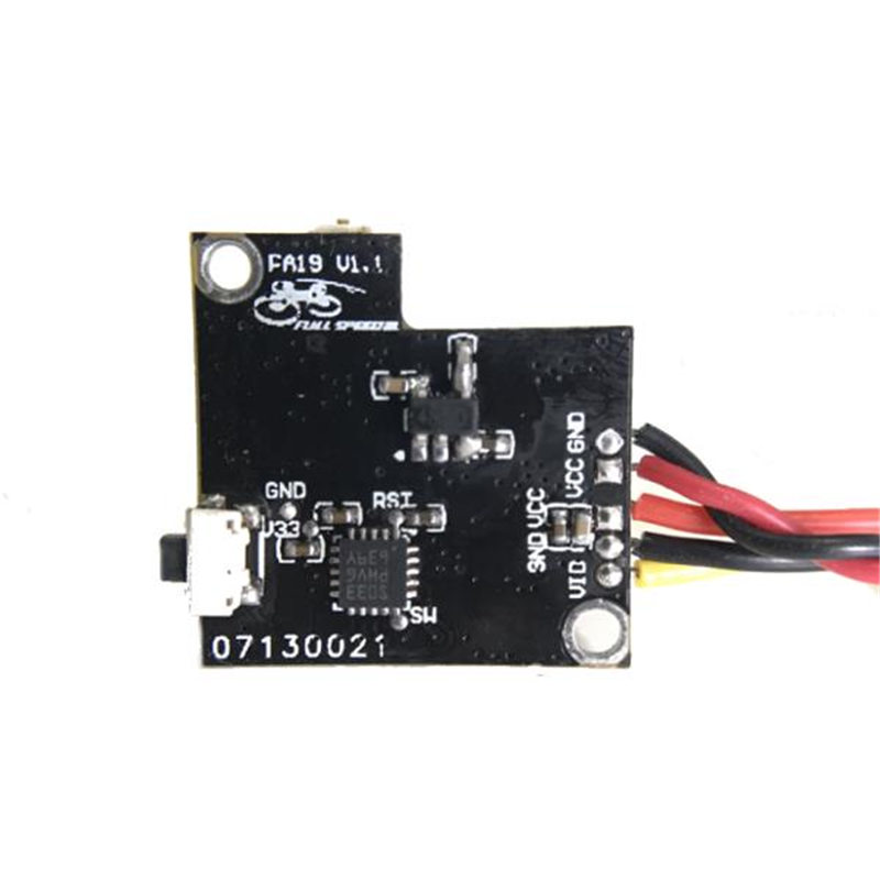 US $19 15  Audio Module Transmission FSD TX200 Support 48CH With Five LED  Display High Power for Micro Swift 2 Action Camera Drone-in Parts &