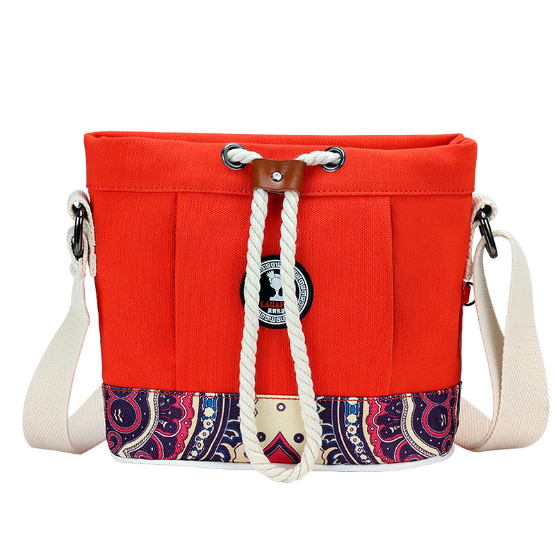 Small Women Canvas Bags Messenger Bag Hobos Mommy Diaper Bag For Baby Nappy Changing Travel Cross