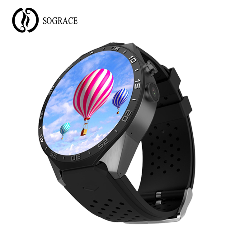 KW88 Smart Watch 3G WIFI GPS bluetooth Android 5.1 IOS 1.39 IPS Touch Screen 400mAh Smartwatch Support SIM Card WiFi Call цена