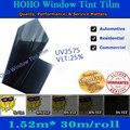 Hoho car window film nuevo estilo anti-ultravioleta tasa 99% ventanilla del coche tinte