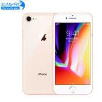 "Original Unlocked Apple iPhone 8 LTE Mobile Phone 4.7"" 12.0MP Hexa Core 2GB RAM iOS Fingerprint Used Smartphone iPhone 8"