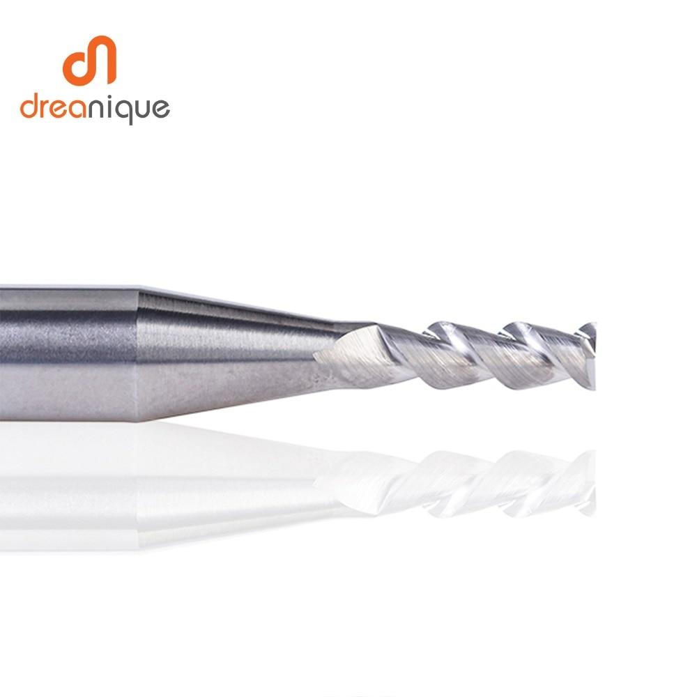 1 pc 3 флейты фрезы вольфрамового сплава концом ЧПУ фреза алюминий фреза для алюминия и деревообрабатывающие