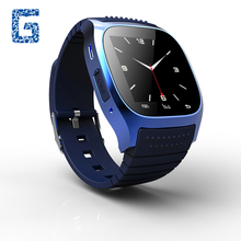 M26 Waterproof Smart Bluetooth Watch Smartwatch M26 with LED Display Music Player Pedometer for Android IOS Mobile Phones