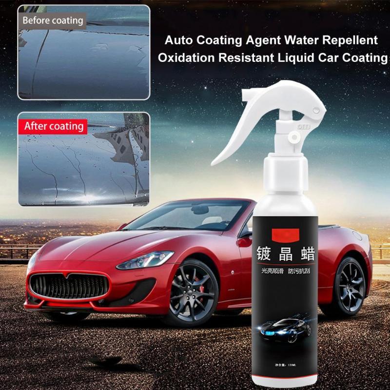 120mL Car Anti-Scratch Hydrophobic Liquid Glass Coating Wax Ceramic Coat  Polish Auto Motorcycle