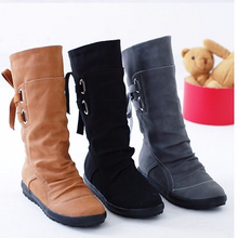 New Fashion Elegant Women Short Boots Plus Size Casual Boots (US Size 4-10.5, Yellow, Black, Brown )(China)