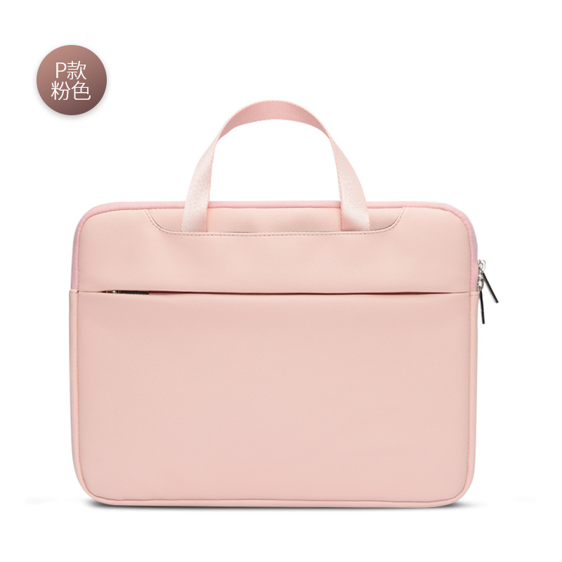Notebook laptop bag business documentary mac men and women 12 inch Air13 Pro15.6 leather liner wholesale