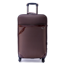 Guaranteed 100 Designer Road Business Bags Women Travel Luggage Unisex Trolley bag Oxford cloth Suitcase On