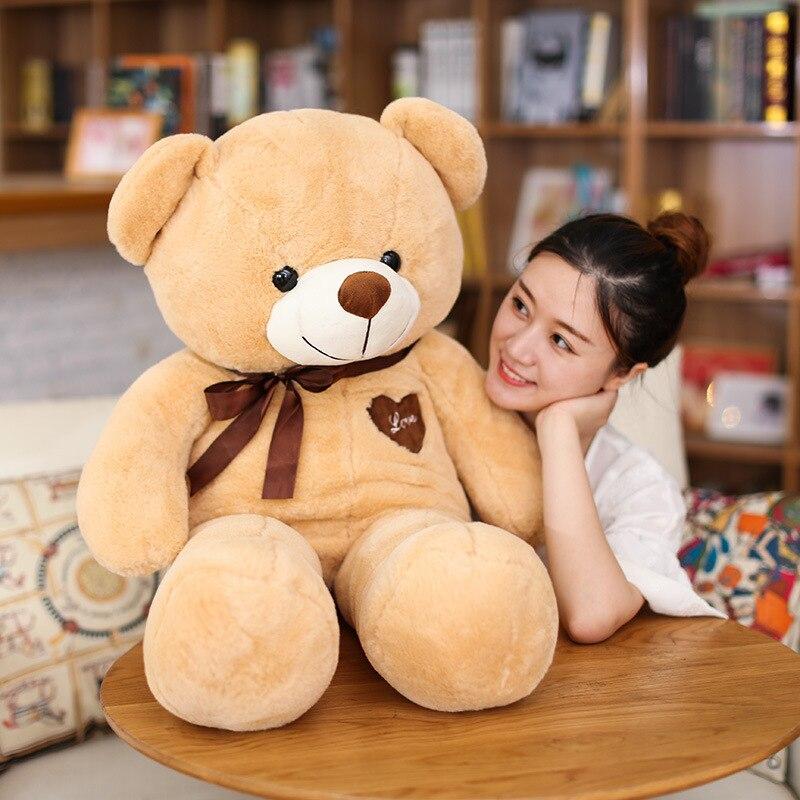Creative Super grand jouet en peluche ours en peluche poupée de mariage poupée oreiller saint valentin cadeau d'anniversaire pour amant prix de gros