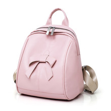 2018 new soft pu leather backpack women vintage college girls students schoolbags mochila casual travel female rucksack backpack все цены