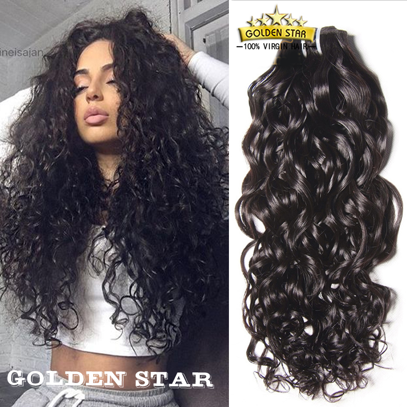 Brazilian Jerry Curl Virgin Hair 4 Bundles Cheap Soft Bouncy Human