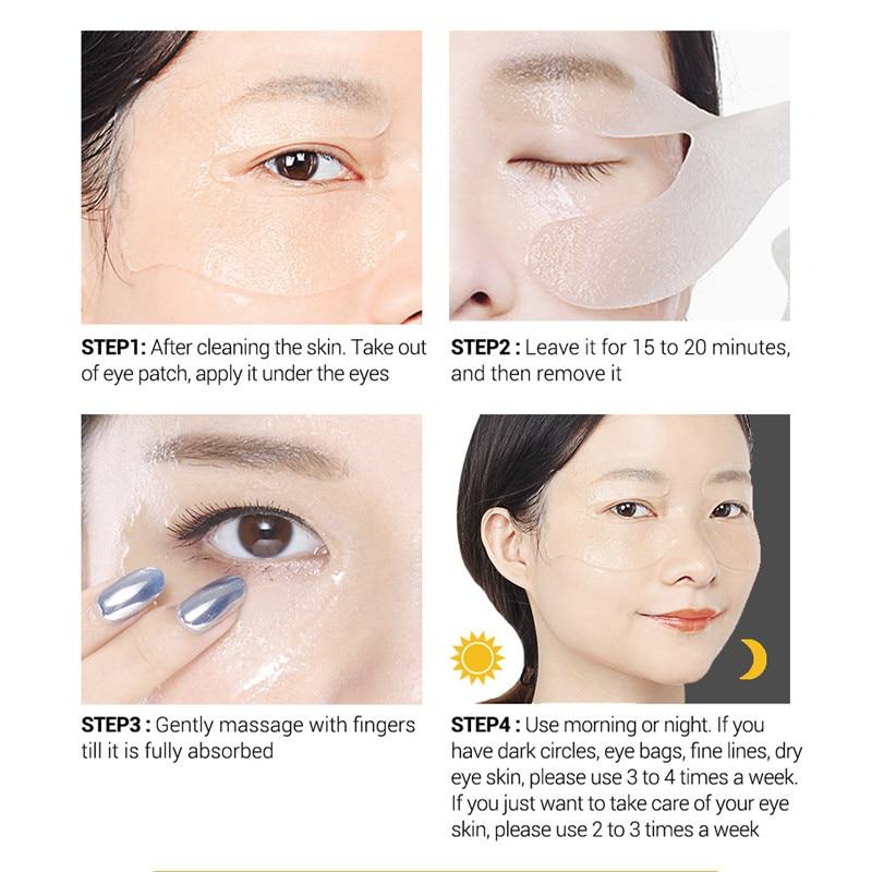 Sacos de Olho Linhas Reparação Nutrir cuidados Com a pele