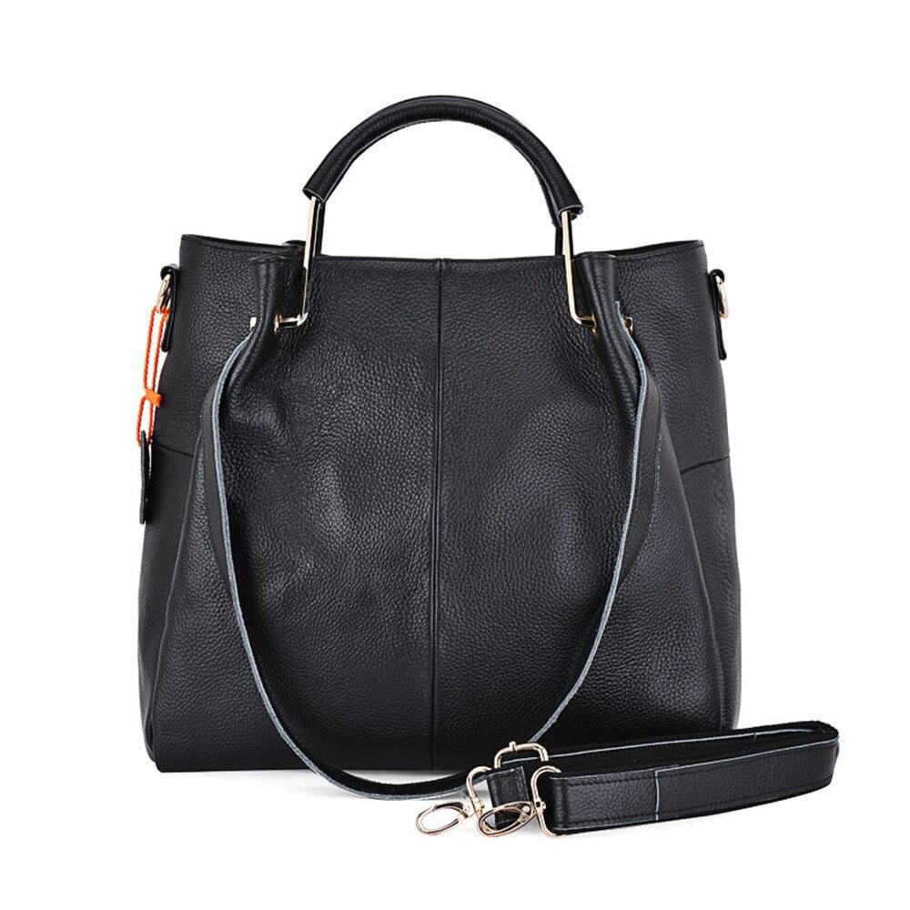 ФОТО Woman handbags Soft genuine leather Big bag Zipper Ladies Shoulder Bag Girl Hobos Bags Ladies luxury crossbody bag sac a main