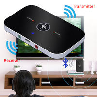 New Portable 2 In 1 Wireless Bluetooth 4 1 Transmitter TV Computer And Speaker Audio Adapter