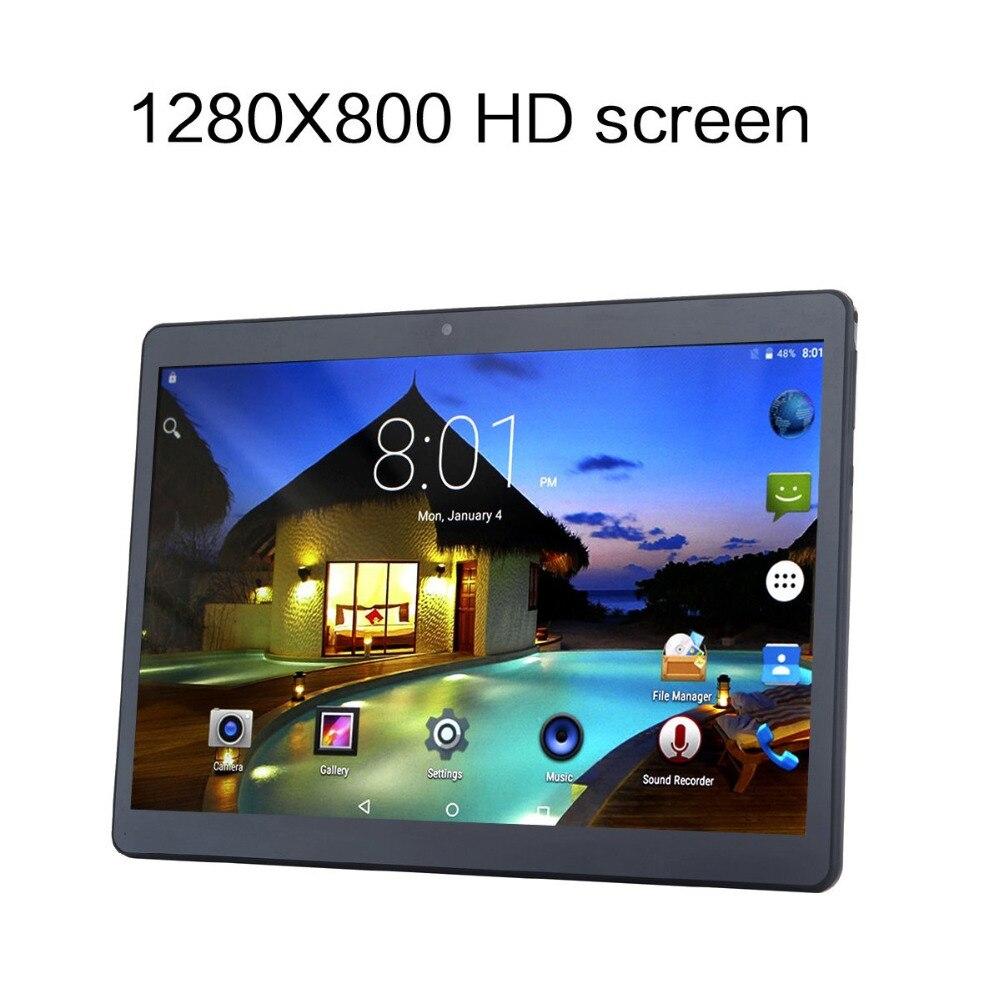 DHL Freies 10 zoll Tablet Android 7.0 mit Schützen Fall 2 gb Ram 32 gb Lagerung Dual SIM 3g Telefon tabletten PC Metall Shell Design git - 2