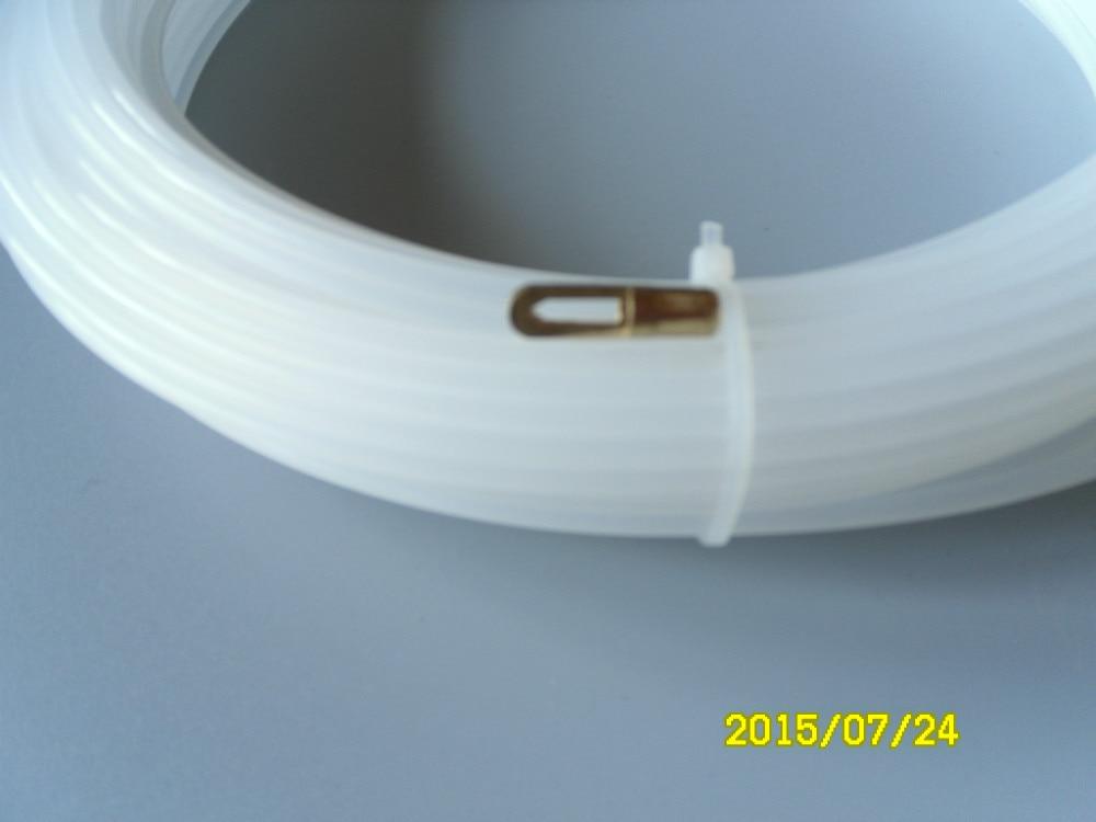Nastro da pesca in nylon da 3 mm, estrattore per cavi, rodder per canali, asta per serpenti, asta push pull 15 metri