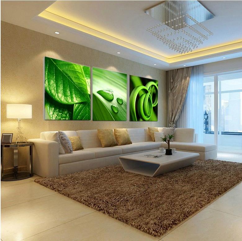Oil painting on 3 piece cheap modern paintings for living for 3 piece living room set cheap
