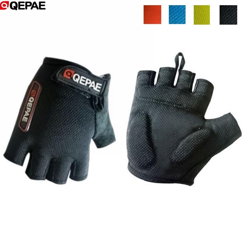Rockbros Bike Pad Half Finger Short Finger Sport Breath Gloves 5 Colors