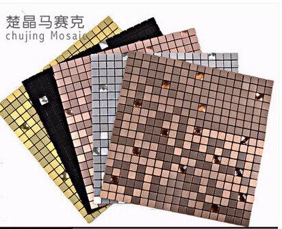 Piastra di alluminio del metallo mosaico di piastrelle di ceramica