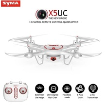 Newest SYMA X5UC RC Quadcopter Drone With 2MP HD Camera 2.4G 4CH 6Axis RC Helicopter Quadrocopter Height Hold VS SYMA X5C X5HC