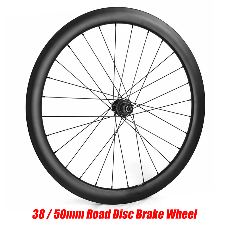 Road Disc Brake Wheelset 700C 38mm 50mm Tubular Tubeless NOVATEC 411/412 Cyclocross Bike Carbon Wheel Carbon Rim Bicycle Wheel