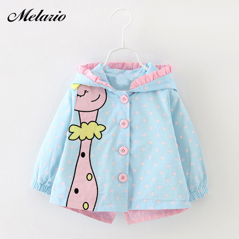 MODENGYUNMA Outwear 2019 Winter Baby Girls cartoon hooded