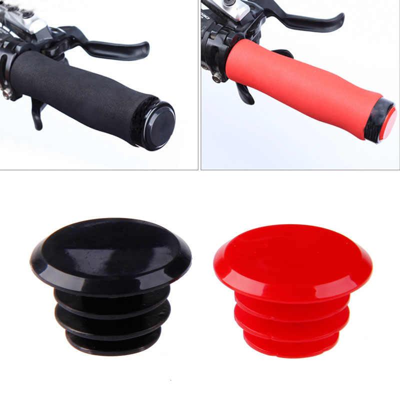 1 Pc Bike Cycle Road MTB Handlebar End Grips Lock-On Plugs Bar Caps Covers New