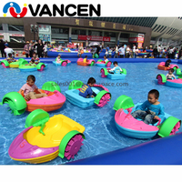 Фабрика ноги гигантский надувной бассейн для парка развлечений дешевый надувной бассейн с весельные лодки с мотором для продажи