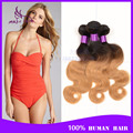 Grau 8a peruano virgem onda do corpo do cabelo onda do corpo 3 pacotes de 300 g ombre T1B / 27 30 red # dois tons de cabelo humano tecer