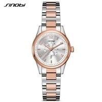 Fashioh Women Business Wrist Watches Top Brand Date Luxury Gold Ladies Quartz Clock Female Bracelet Relogio